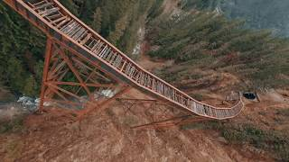 FPV FREESTYLE - ABANDONED TRAIN BRIDGE
