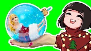 НОВОГОДНИЕ ЛАЙФХАКИ - Реакция на Трум Трум! 14 новогодних лайфхаков для куклы Барби из инстаграм