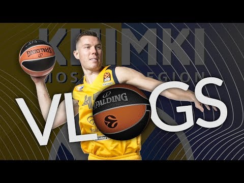 Vlog, Dairis Bertans, Khimki: 'More games is better'