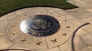 Raw: Bush grave opens to the public for the first time since Barbara Bush's burial