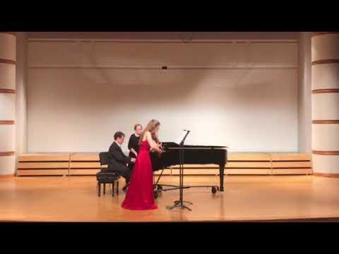Third movement of Ravel's 2nd violin sonata