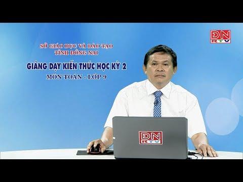 Ôn tập kiến thức HK1- Môn Toán - lớp 9 (17-03-2020)