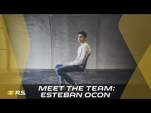 Image: Renault meet the team: Esteban Ocon