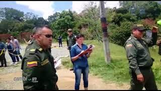 Pelea del teniente Coronel Andrés Polanco, en entrega del lote de Visalta de Calambeo. Cambioin