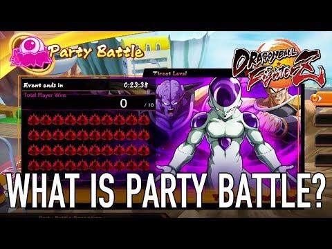 Party Battle de Dragon Ball FighterZ