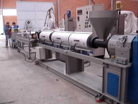Extrusora ADL 100mm com degasagem