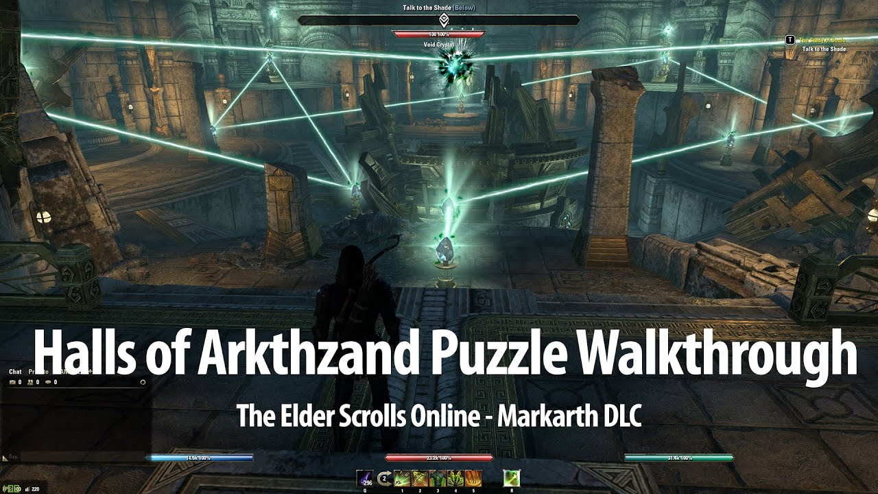 Video Halls of Arkthzand Puzzle Walkthrough