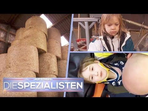 2 Brüder vom Heuballen gefallen: Sind die Jungs vergiftet? | Teil 1/2 | Die Spezialisten | SAT.1 (видео)