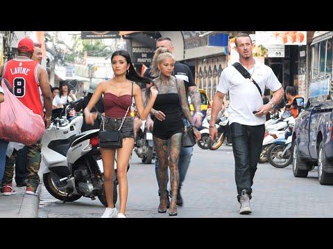 Sunday Night In Pattaya Walking Street - October 2019
