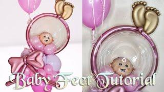 Balloon Bouquet Tutorial | Baby Shower Idea | DIY
