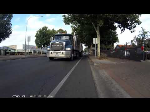 Fool Intentions | Truck Close Pass | Caught on the Cycliq Fly6 and Fly12