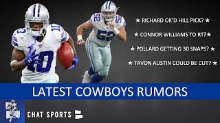 Cowboys Rumors: Connor Williams, Tony Pollard vs. Tavon Austin & Kris Richard Wanted Trysten Hill?