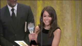 Tatiana aux Critic's Choice Television Awards 2013