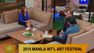 Good Morning Kuya: 2015 Manila International Art Festival