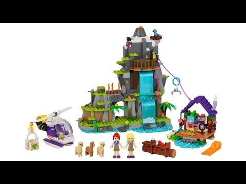 ИНСТРУКЦИЯ Lego friends Джунгли: спасение альпаки в горах