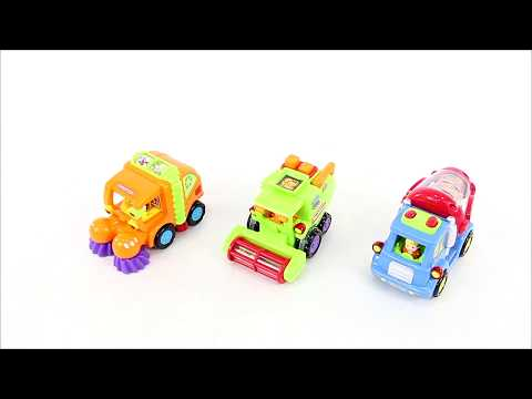 SKY2039 Set of 3 Friction Powered Toy Cars