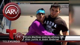 Revelan quién fue la última pareja de Juan Gabriel | Al Rojo Vivo | Telemundo