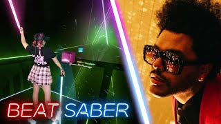 The Weeknd - Blinding Lights - Expert | Beat Saber Mixed Reality