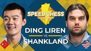 Ding Liren vs Sam Shankland: 2019 Speed Chess Championship