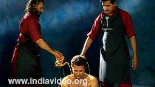 Avagaha sweda - sudation treatment in Ayurveda