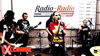 Louna-Штурмуя небеса(Live Exclusive On RadioRadio.ru)