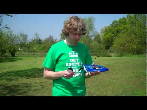 LRP Deep Blue One RC Speed Boat Review RC Racer Magazine