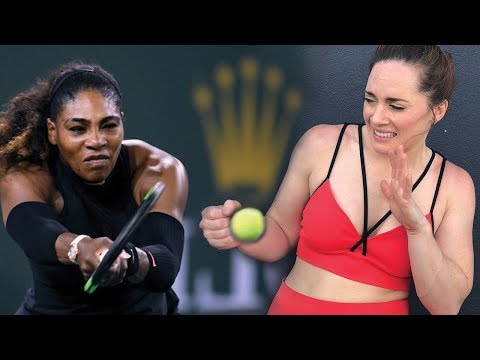 IS SERENA STRONGER THAN ME?