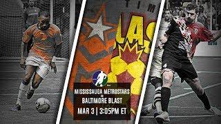 Mississauga MetroStars vs Baltimore Blast