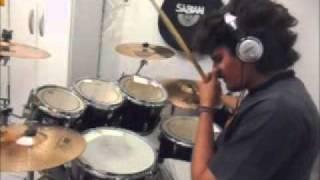Deep Purple - I've Got Your Number [drum cover] @alanvariado