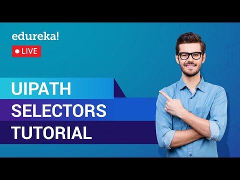 UiPath Selectors Tutorial For Beginners | UiPath Training - YouTube