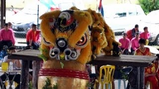 preview picture of video 'Lion Dance Video 2013 吉隆坡胜威龙狮体育会 傳統舞獅比賽'