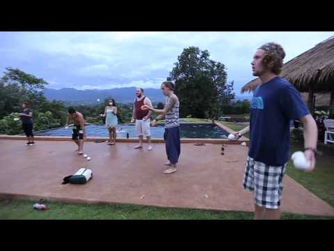 Video of The Famous Pai Circus Hostel