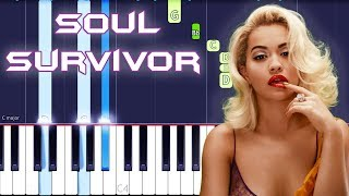 Rita Ora - Soul Survivor Piano Tutorial EASY (Phoenix) Piano Cover