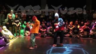 YASS + Yusei JUSTE DEBOUT 2016 JAPAN HIPHOP SIDE WINNER