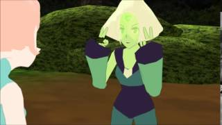 [MMD X Steven universe] pearl vs peridot