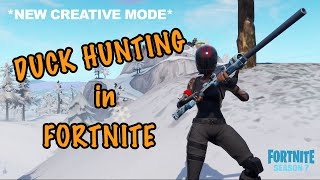 Fortnite Duck Hunting Arena | V1.0 | *NEW CREATIVE MODE*