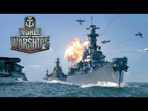 World of Warships(ワールドウォーシップス)の動画サムネイル