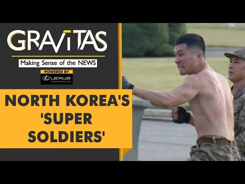 , title : 'Gravitas: North Korean Soldiers with 'iron fists' showcase their might'