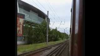 preview picture of video 'Arsenal FC silenced by thundering Deltic diesel engine'