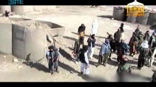 Afghan Taliban Fighters Enter Allegedly Liberated US Base in Wardak