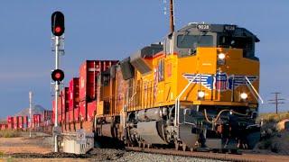 HD: Mojave, Cajon, Needles, And Cima  Railfanning In July 2016