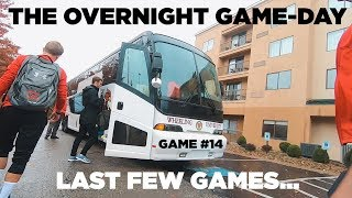 First Overnight College Game! | Team Travel Against Concord University Mens Soccer