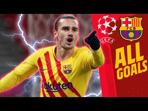 ALL THE GOALS: BARÇA IN THE CHAMPIONS LEAGUE GROUP STAGE (2020/21)