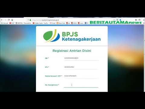 Cara Daftar Online Pencairan BPJS TK Atau Jamsostek