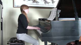 Jessica plays Satie: Sonatine Bureaucratique - Andante