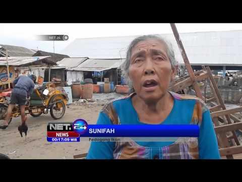 Video Gelombang Laut 3 Meter di Jepara Jawa Tengah - NET24