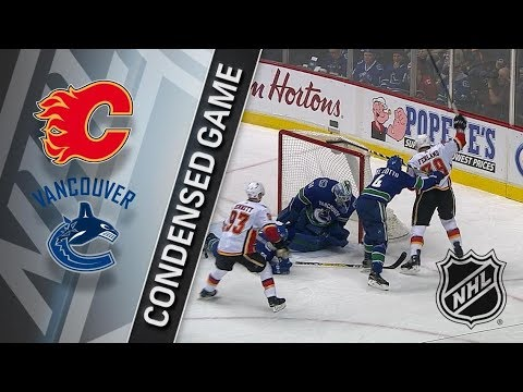 Calgary Flames vs Vancouver Canucks – Dec. 17, 2017 | Game Highlights | NHL 2017/18. Обзор матча