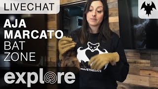 Aja Marcato - Organization For Bat Conservation - Live Chat