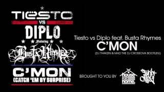BUSTA RHYMES - CATCH EM BY SUPRISE (DJ THAKZIN & MAD THE DJ CROSSOVA BOOTLEG)