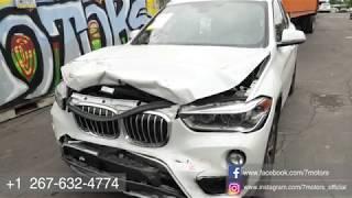 Авто из США от 7motors . 2016 BMW X1 выигрышная ставка 13025$ с аукциона (iaai).